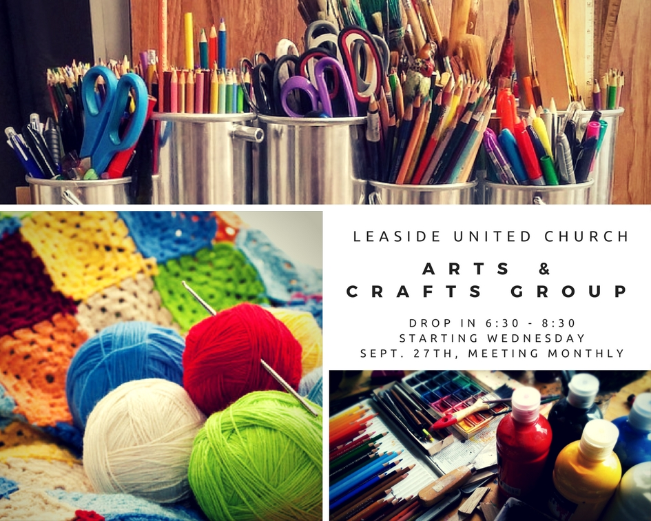 Arts & Crafts Group @ Leaside United Church | Toronto | Ontario | Canada
