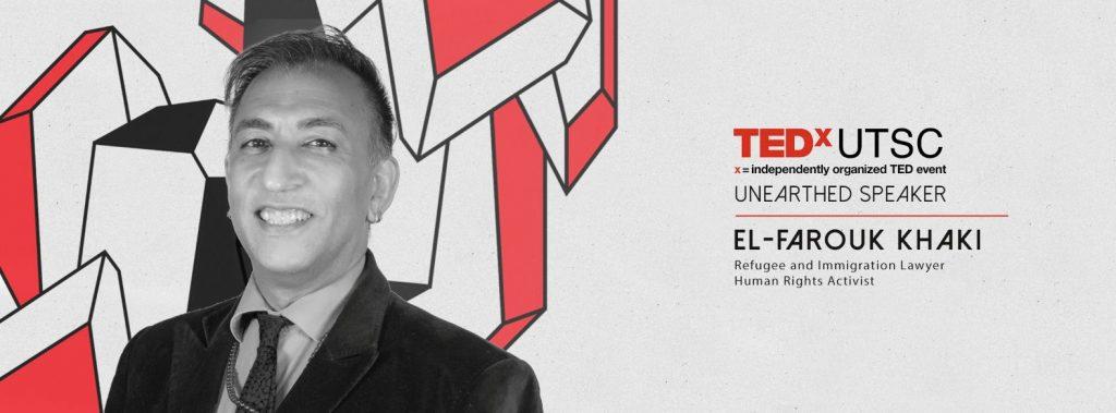 El-Farouk Khaki - Guest Speaker @ Leaside United Church | Toronto | Ontario | Canada